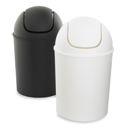 Umbra Mini Swing Lid Trash Cans The Container Store