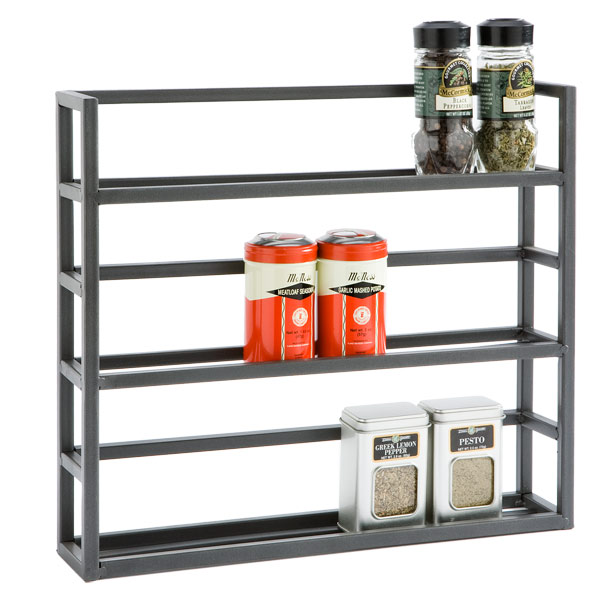 Iron Spice Rack The Container Store