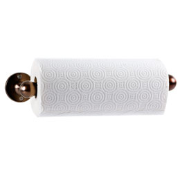 Wall Paper Towel Holder umbra bronze tug wall-mount paper towel holder | the container store