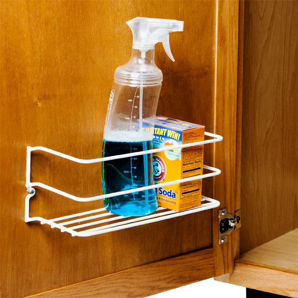 Cabinet Storage Racks - Cleanser Rack The Container Store