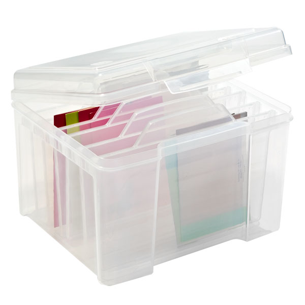 Clear Card Keeper The Container Store