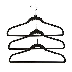 Huggable Cascading Mini Hooks Black Pkg/10