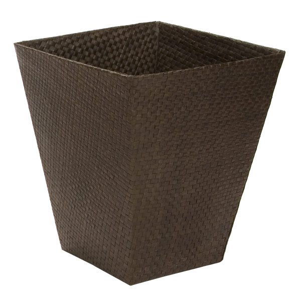 Square Pandan Wastebasket Java