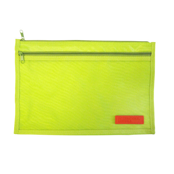 Barcelona Paper Pouch Lime