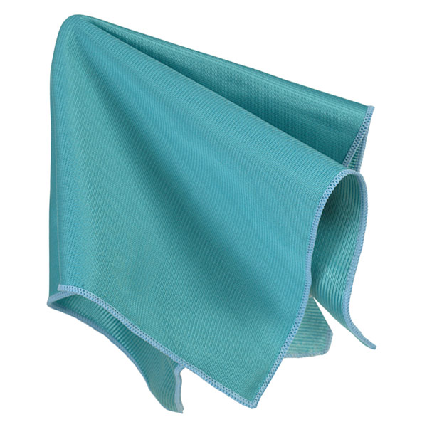 Glass Magnet Cloth Blue