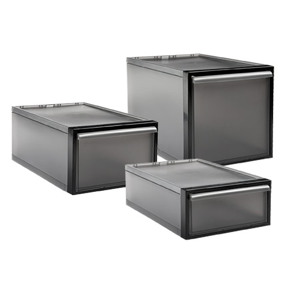 Like-it® Smoke Stacking Drawers