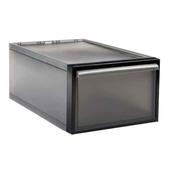Medium Like-it® Stacking Drawer Smoke