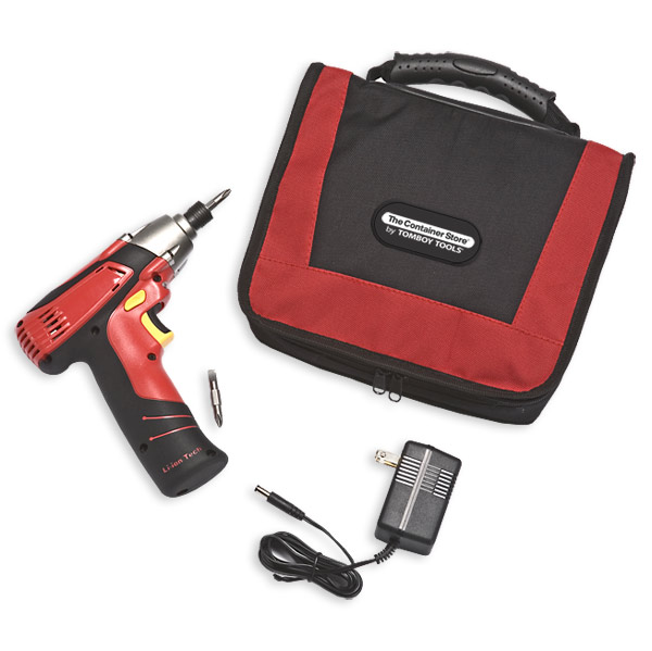 8-Volt Impact Drill Red