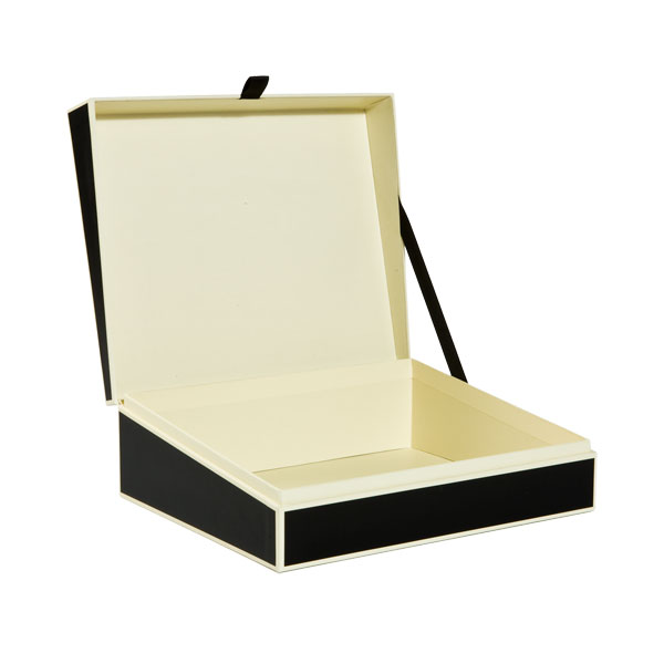 Document Box Black