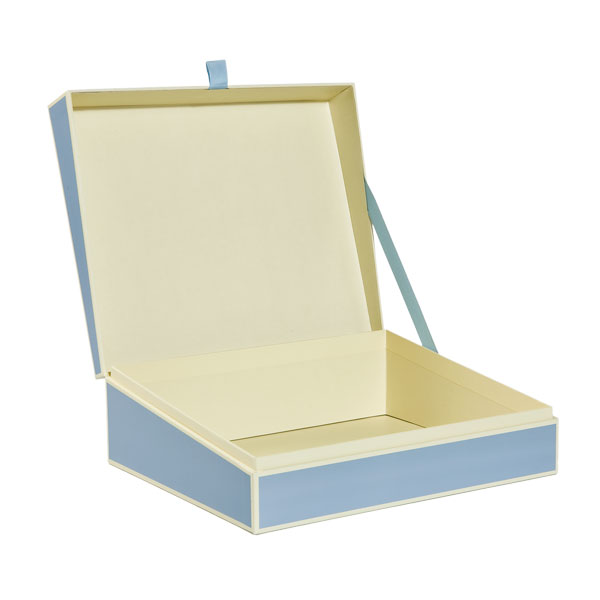 Document Box Sky Blue