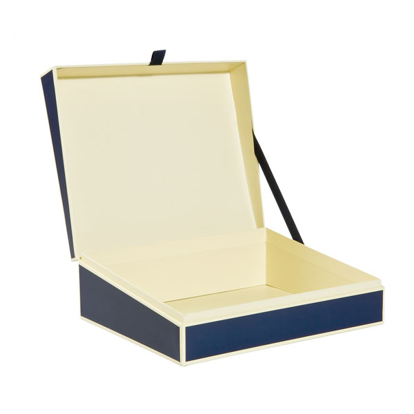 Document Box Navy