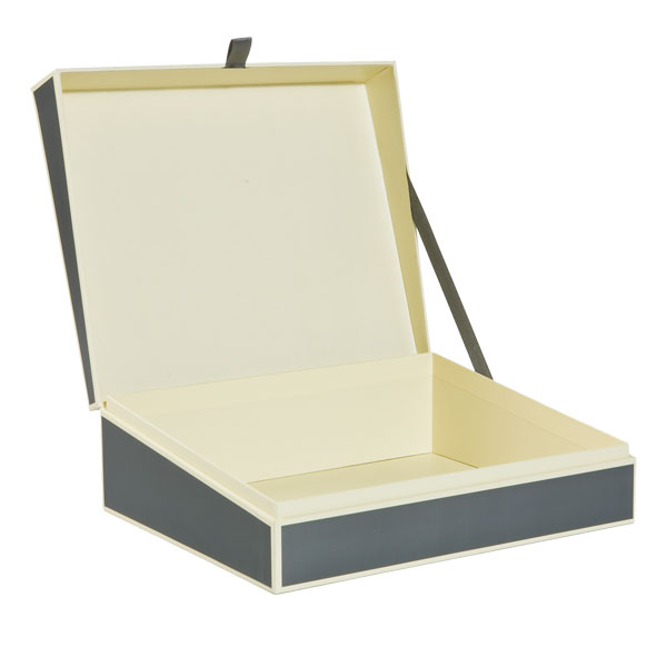 Document Box Grey