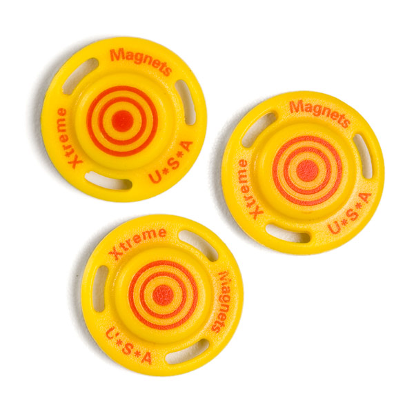 Stud Finder Targets Yellow Pkg/4