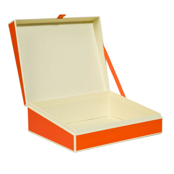 Document Box Orange