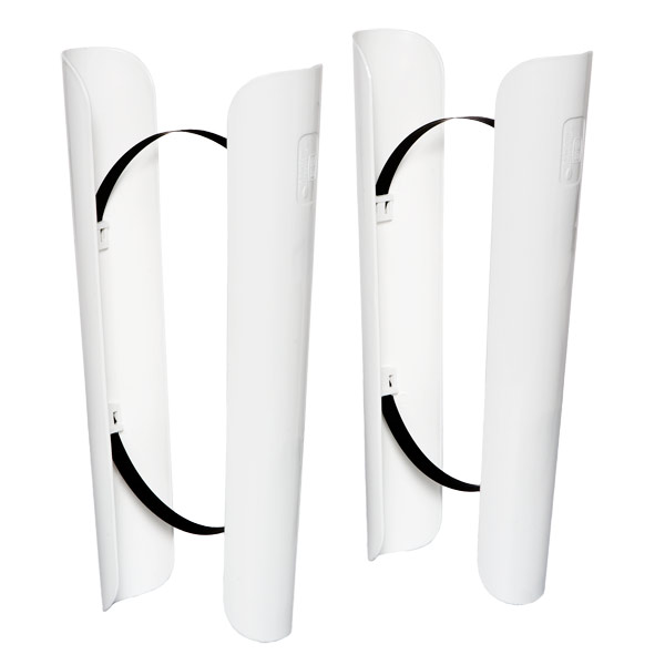 Boot Shapers White Set of 2