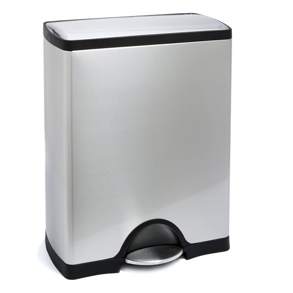 simplehuman® 13 gal. Deluxe Rectangle Step Can
