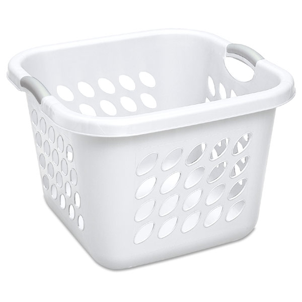 Ultra Laundry Basket White