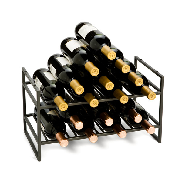 ... Stacking Wine Rack Pewter. Roll over to zoom