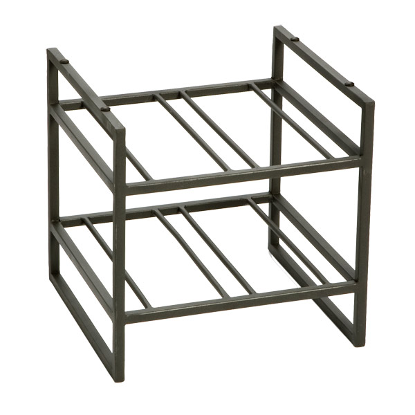 Stackable Wine Rack Iron Racks The Container. Tendril 4 Bottle ...
