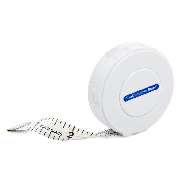 10' Tape Measure White