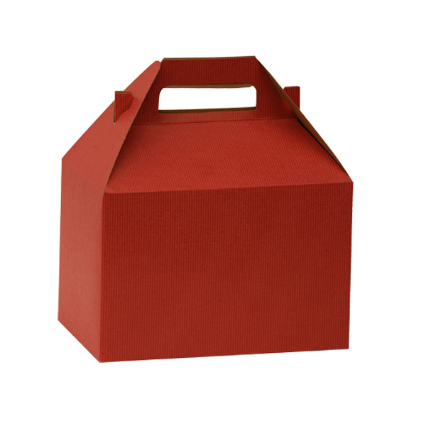 Large Gable Box Red