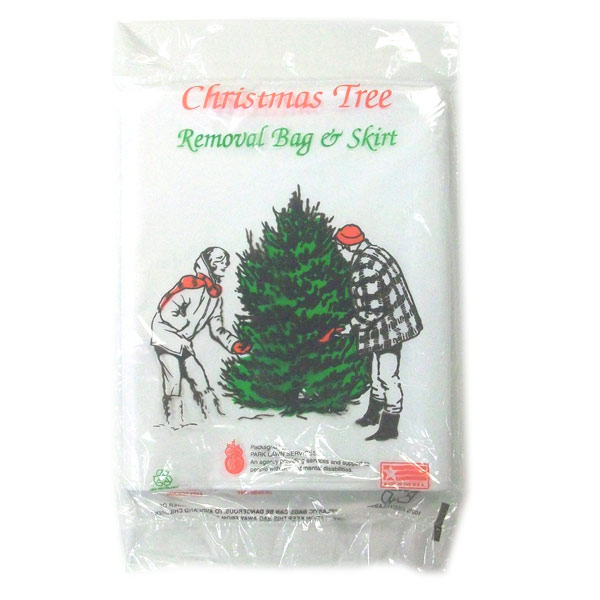 Christmas Tree Disposal Bag White