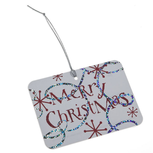 Gift Tags Merry Christmas Swirls Pkg/5