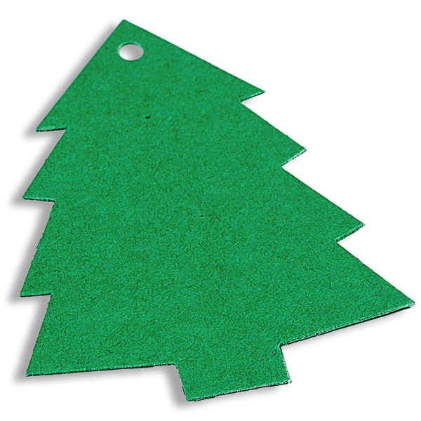 Gift Tags Green Tree Pkg/12