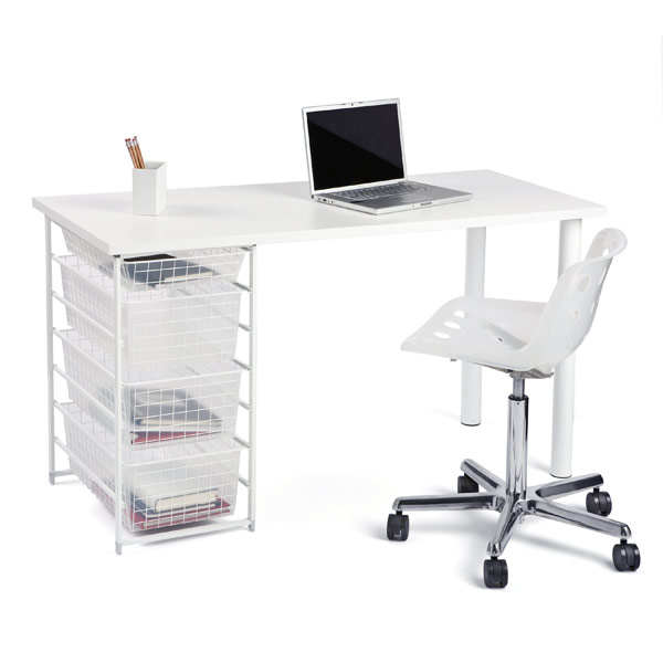 elfa Component Desk White