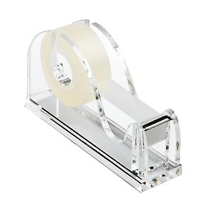 Acrylic Tape Dispenser Clear