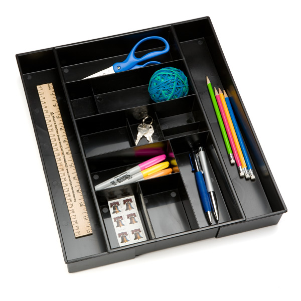 Desk Expand-a-Drawer™ Black