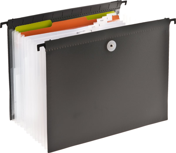 Expanding Hanging File Grey