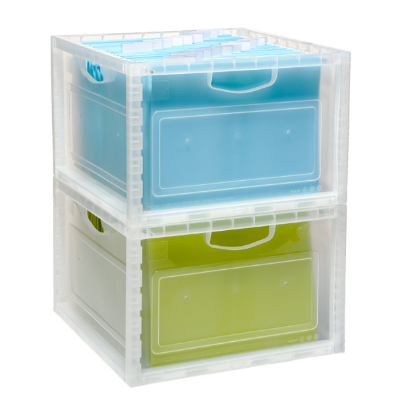 Stackable File & Storage Crate