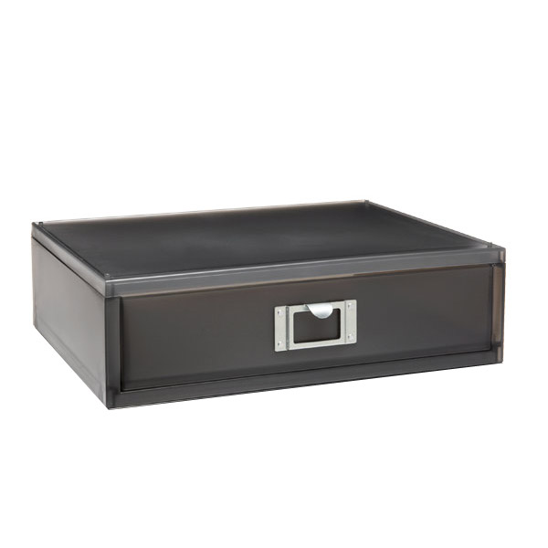 Like-it® Landscape Paper Drawer Smoke