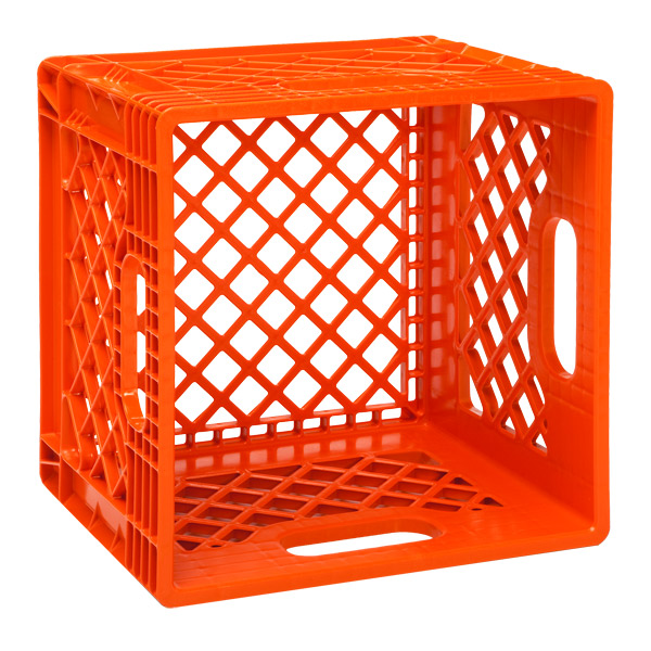 Dairy Crate Orange