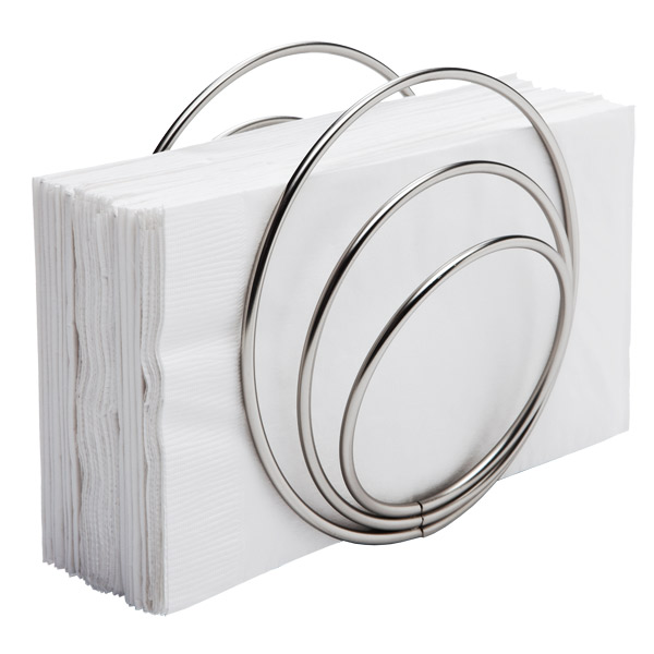 Umbra® Rings Napkin Holder Nickel