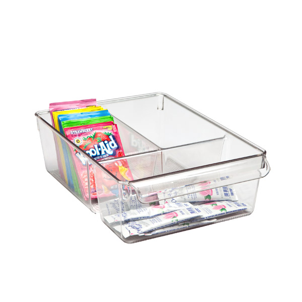 Linus™ Wide Divided Cabinet Organizer