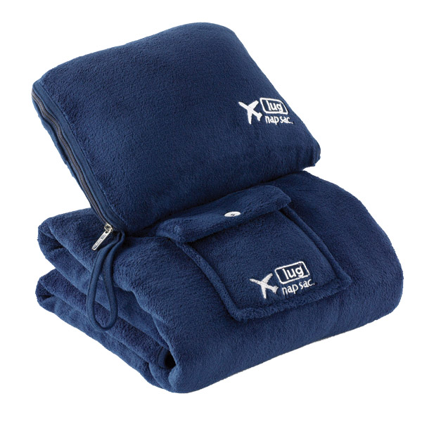 Nap Sac™ Blanket & Pillow Navy