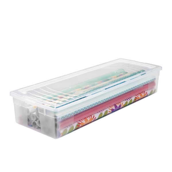Iris Clear Gift Wrap Box The Container Store