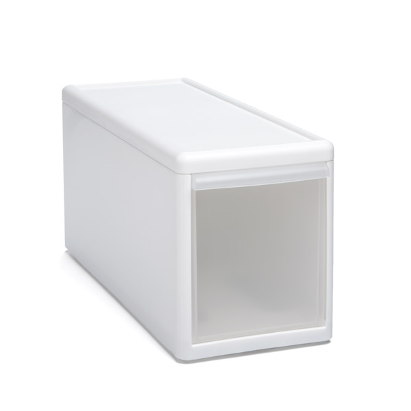 Like-it® Modular Short Narrow Drawer White