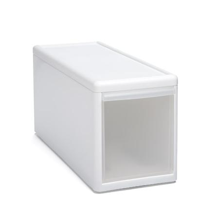 Like-it Modular Short Narrow Drawer White