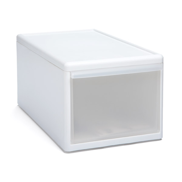 Like-it Modular Short Medium Drawer White
