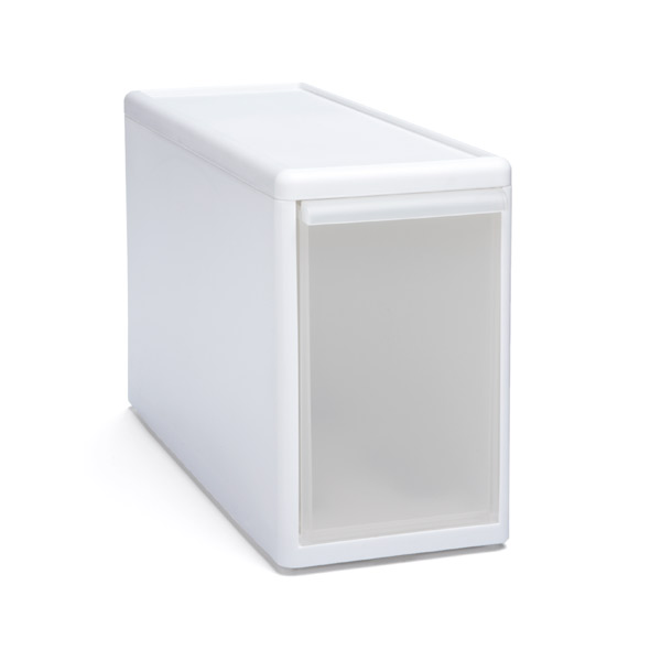 Like-it Modular Tall Narrow Drawer White