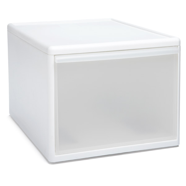 Like-it® Modular Tall Wide Drawer White