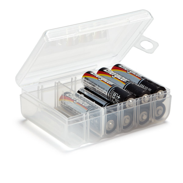 battery storage containers aaa battery storage case
