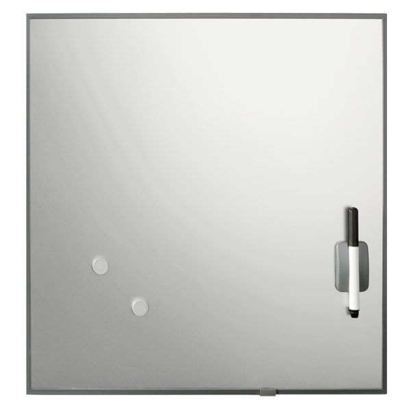 Magnetic Dry Erase Square Stainless