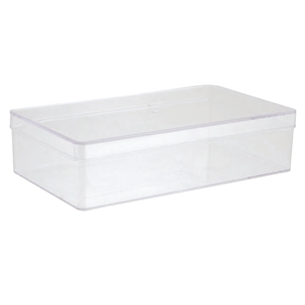 1-Compartment Rectangle Clear