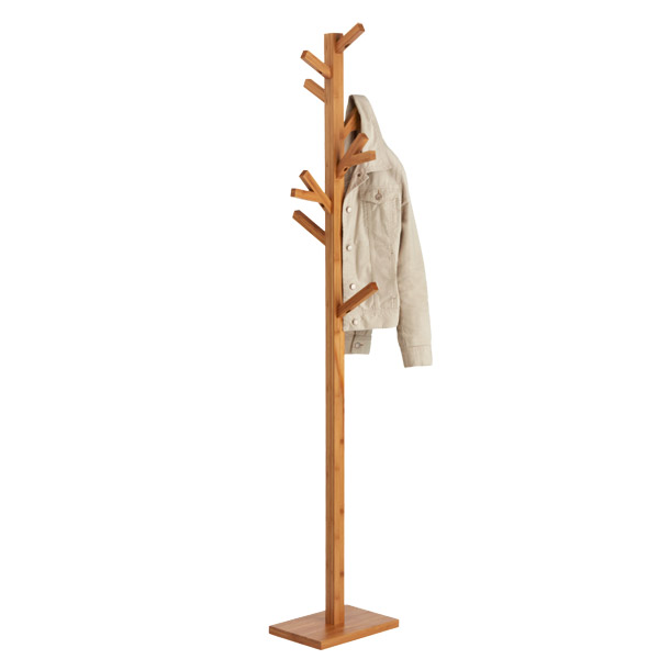 Coat Tree Natural Bamboo