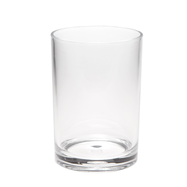 Acrylic Round Tumbler Clear