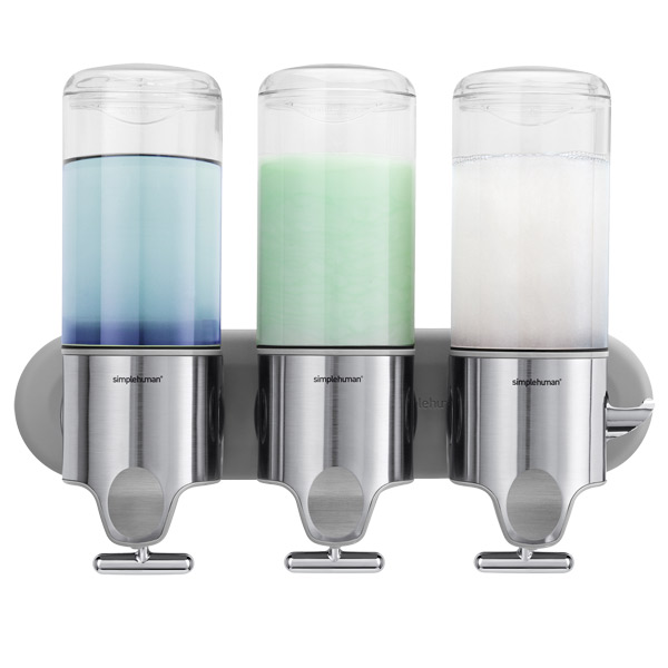 Triple Shampoo & Soap Dispenser
